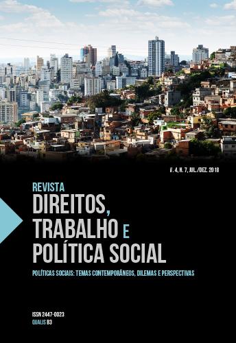 Capa - Direitos Trabalho e Política Social